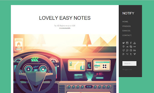 Notify Blogger Template | Vice Blogger