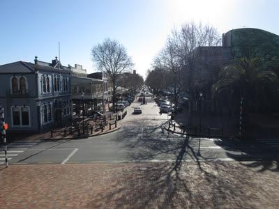 Calle Trafalgar, Nelson, Nueva Zelanda