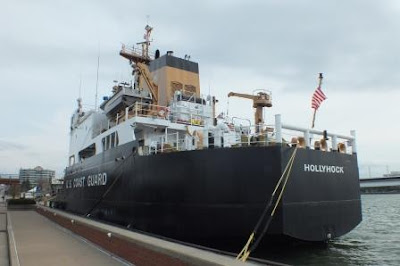 USCGC Hollyhock docked in Erie April 2017