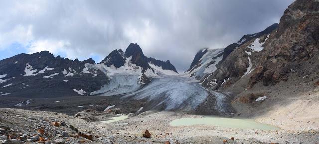 Panorama du Glacier de Saint Sorlin, Massif des Grandes Rousses