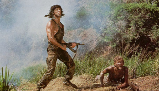 Rambo i? i cauta fiica