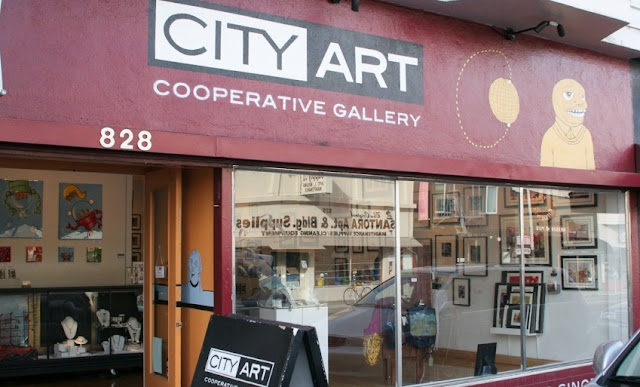 City Art Cooperative Gallery em San Francisco na Califórnia