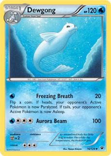 Dewgong Fates Collide Pokemon Card