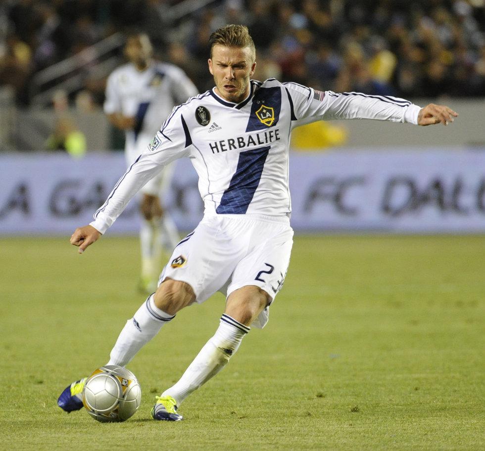 Football Super Star Player: David Beckham Profile and ...