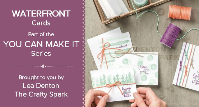Stampin' Up! Waterfront Cards
