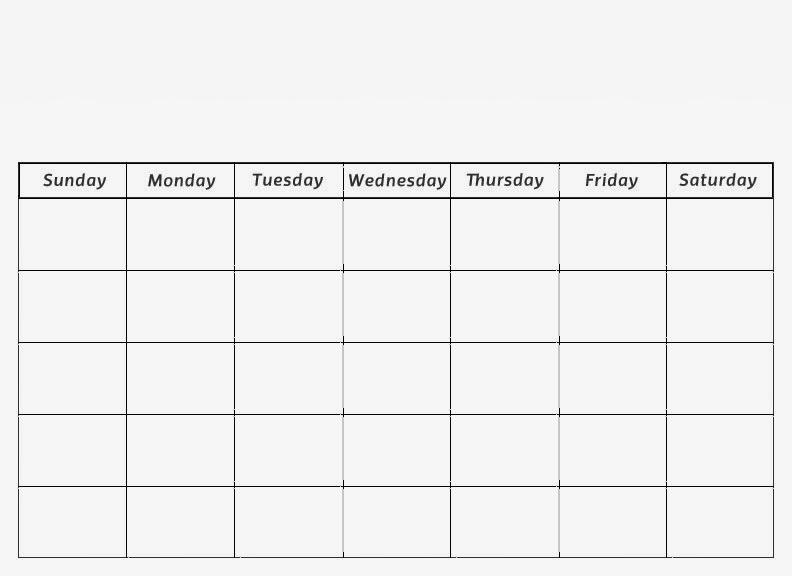blank calendar 2013 | 2016 Blank Calendar - calendar en - WWW.ALBUMI.C.LA