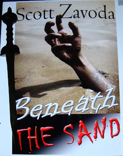 Portada del libro Beneath the Sand, de Scott Zavoda