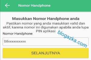 Nomer handphone