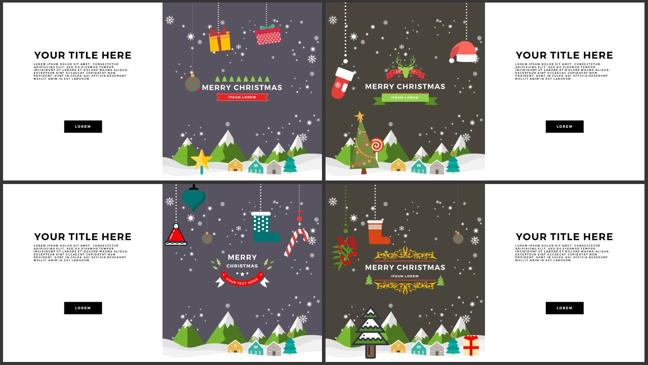 Infographic christmas animated free powerpoint template infographicon animated christmas free powerpoint template slide 1 4 toneelgroepblik