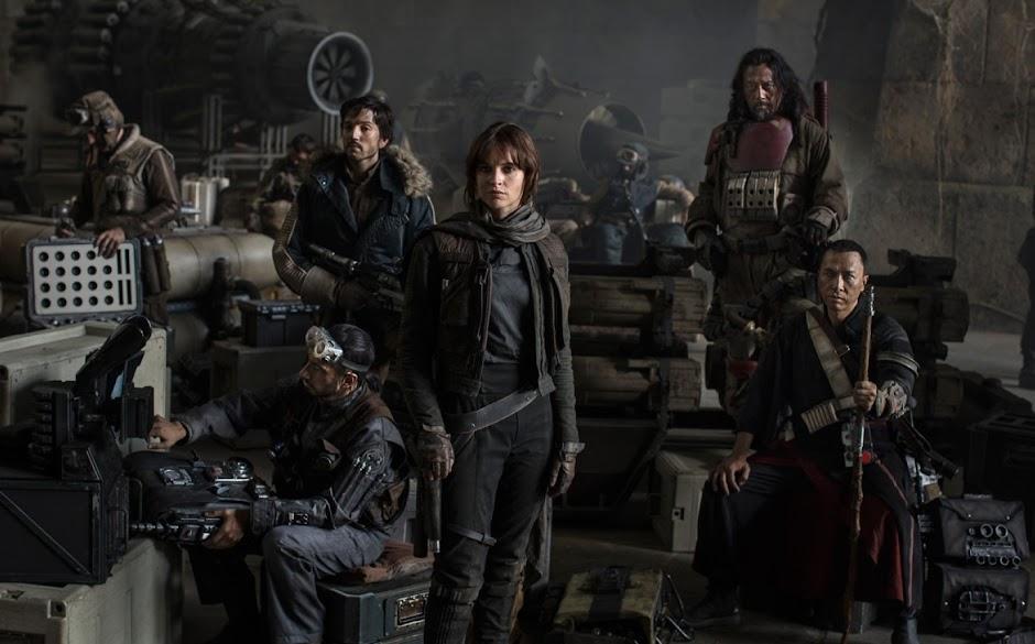 """Bilheteria de """"Rogue One: Uma História Star Wars"""" ultrapassa a marca de US$ 1 bilhão"""