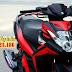 Sơn xe Nouvo SX đỏ đen phối màu phong cách thể thao