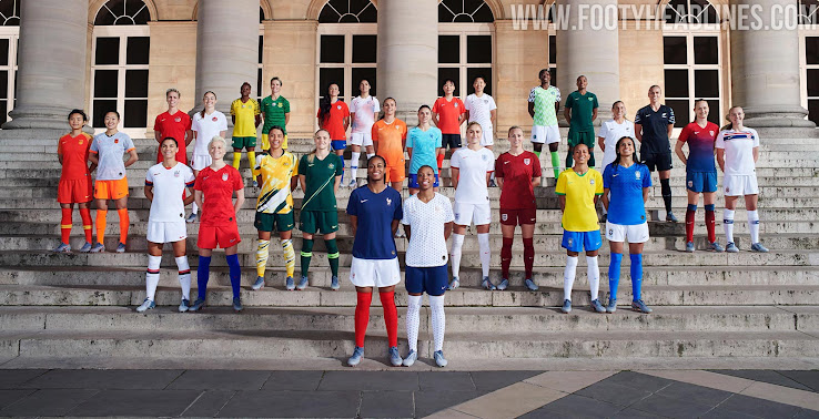 761545caaa5 2019 FIFA Women's World Cup Kit Overview: Unique Kits From Adidas & Nike