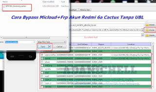 Cara Bypass Micloud+Frp Akun Redmi 6a Cactus Tanpa UBL
