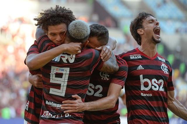 Primeiro passo pra ser Flamengo