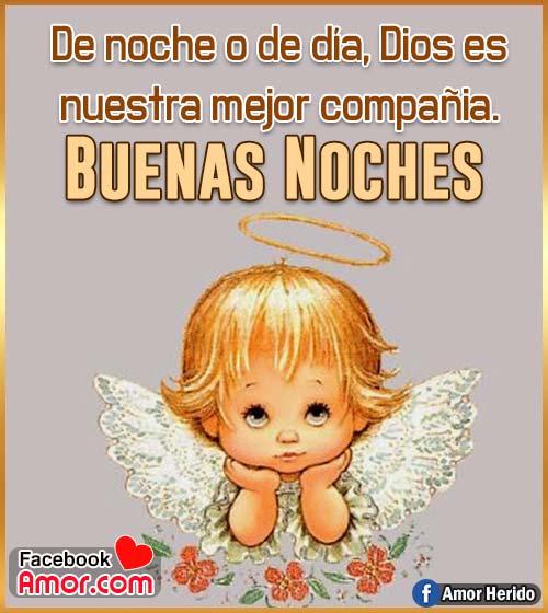 imagen de ángel para desear buenas noches