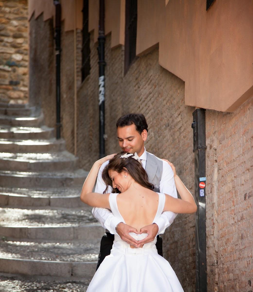 sesión de fotos de bodas en Granada
