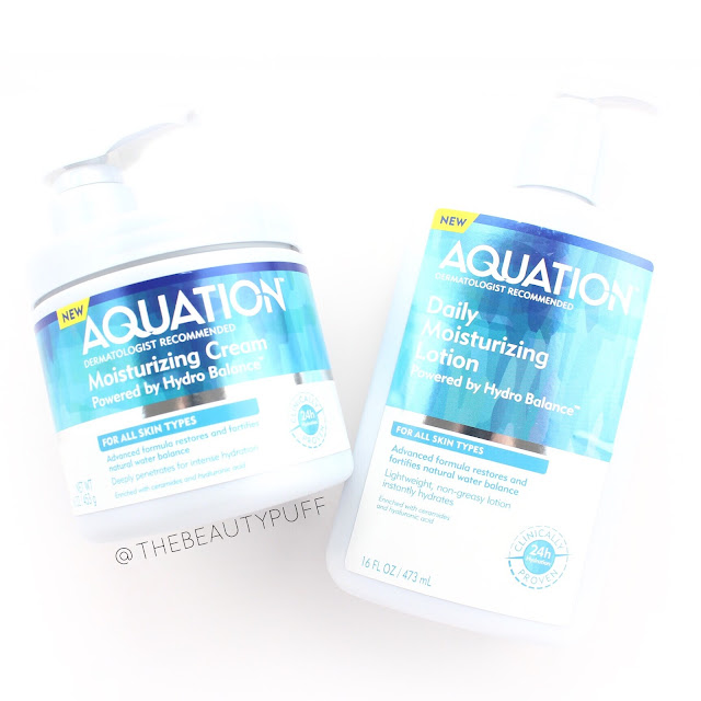 aquation lotions | the beauty puff