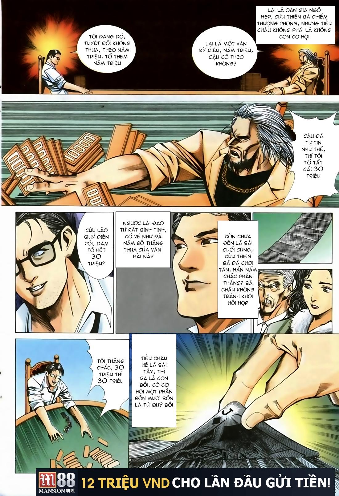 Đổ Hiệp Truyền Kỳ chap 1 - Trang 13