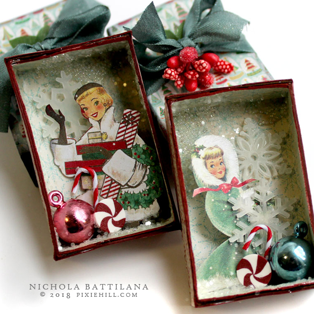 AlphaStamps.net Pretty Vintage Christmas - Nichola Battilana