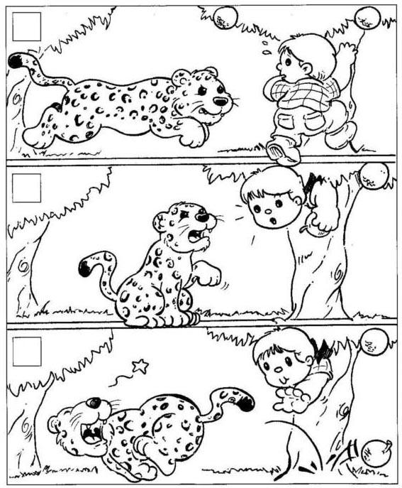 Secuencias de dibujos para crear cuentos