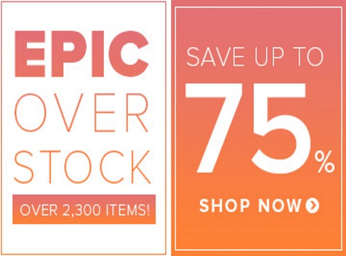 Well.ca Epic Overstock Sale Up To 75% Off
