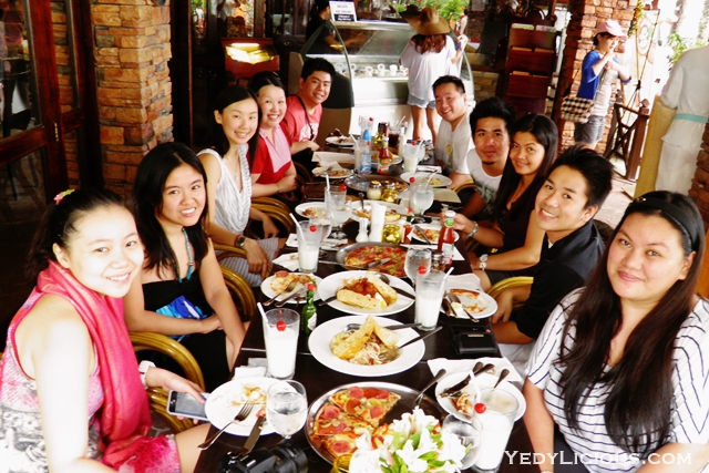 Manila Bloggers at Don Vito Ristorante Italiano Boracay