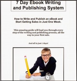 Write and Publish an Ebook in Just 7 Days Using This Easy System