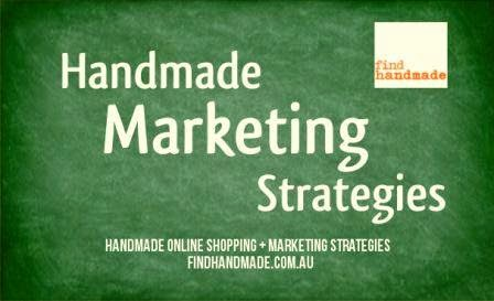 handmade marketing strategies