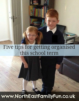 Five tips for getting organised this school term