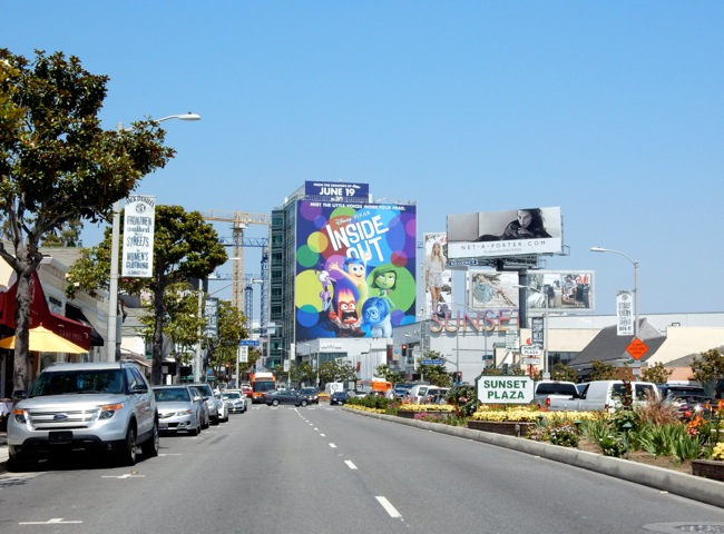 Giant Inside Out film billboard