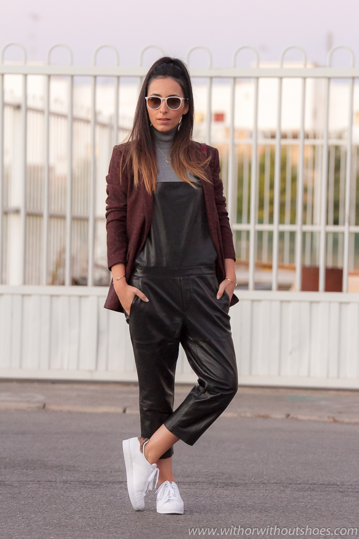 EStilo blogger de moda belleza de Valencia como combinar adidas originals Superstar