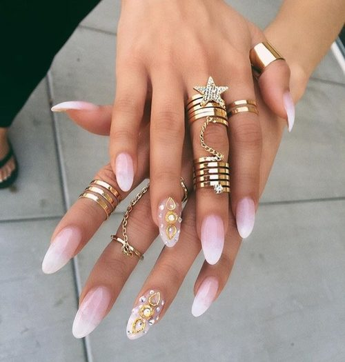 Saturday, September 24, 2016 - Long Nails Designs!