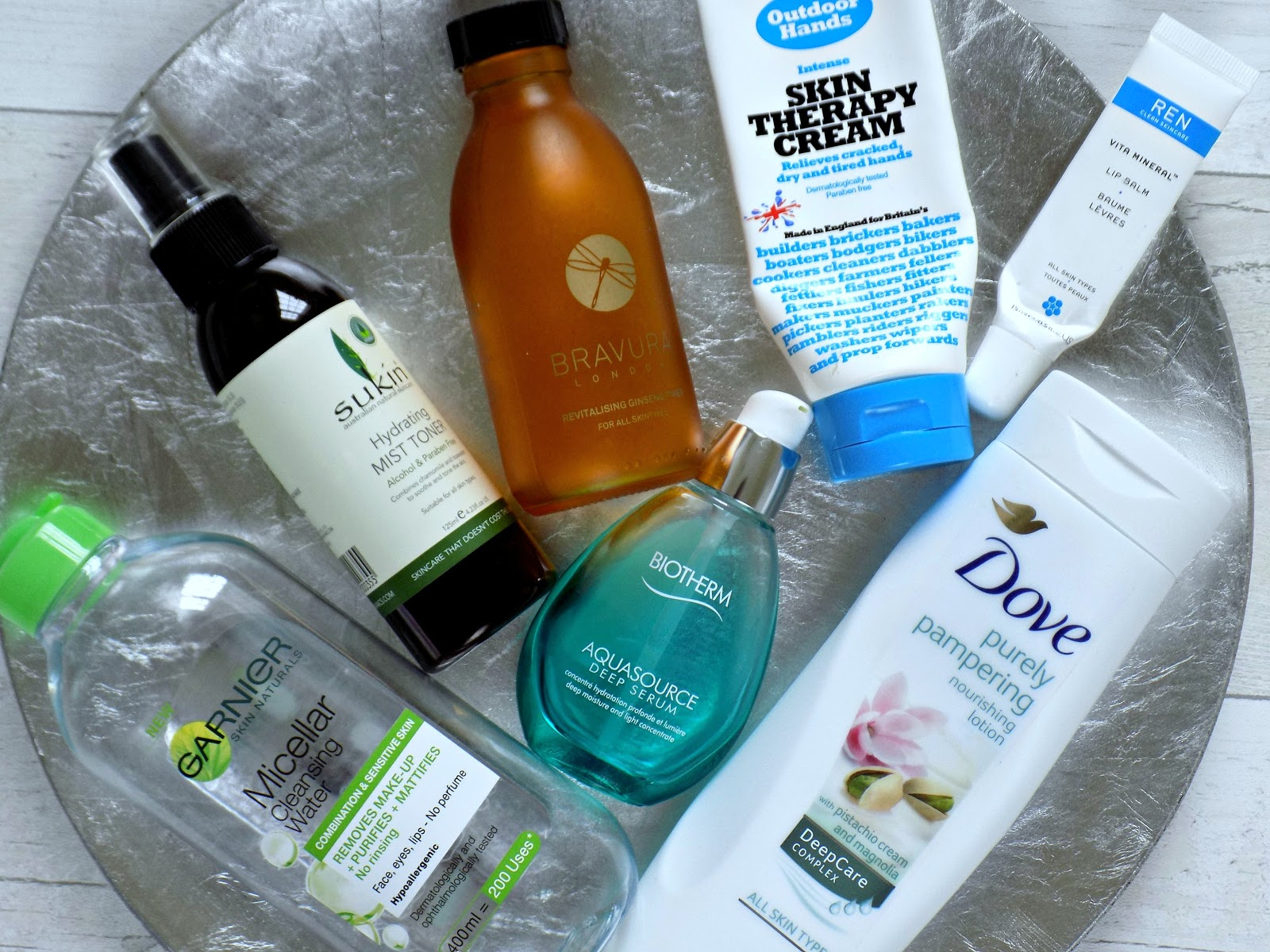 products I've used up recently