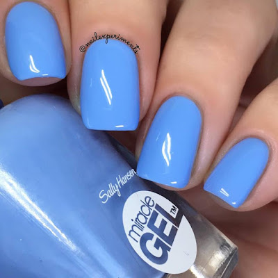 Sally Hansen Miracle Gel Sugar Fix swatch Travel in Colour collection