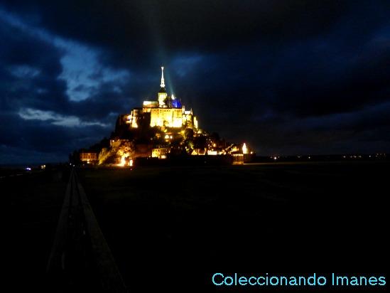 Visita nocturna al Monte Saint Michel