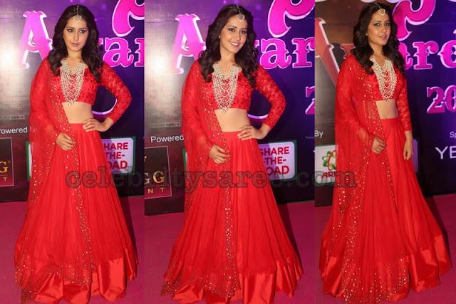 Rashi Khanna Classic Designer Lehengas1