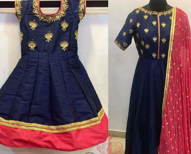 Mom and Daughter Lehenga Salwar