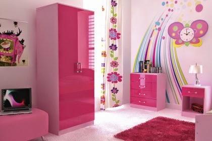 Teenage Girl Room White And Gold Polka Dot Wallpaper 5 Ideas Para Decorar Habitaciones Infantiles En Color Rosa