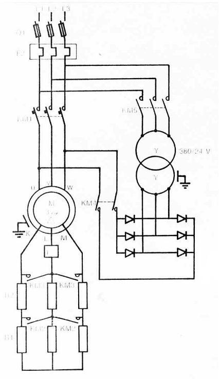 sch u00e9mas  u00e9lectriques et  u00e9lectroniques  freinage par