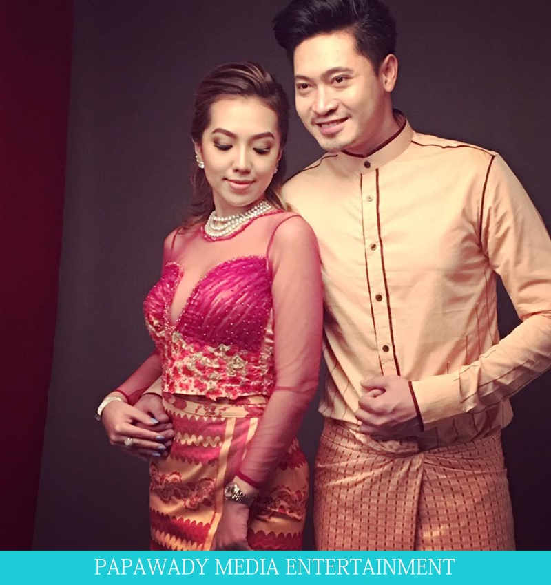 Warso Moe Oo and Tun Ko Ko  For Valentine's Day Photoshoot