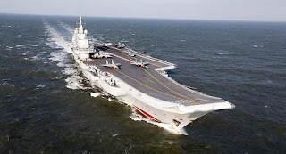 Kapal Induk Liaoning AL China (PLAN)