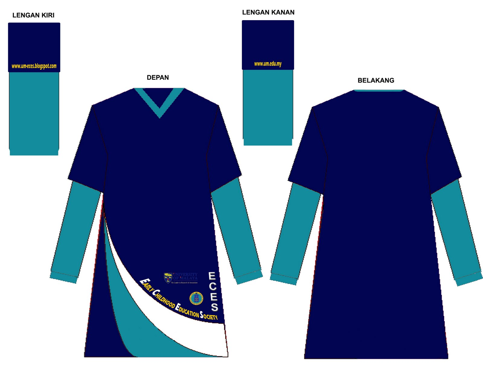Design t shirt universiti - Design T Shirt Universiti 36