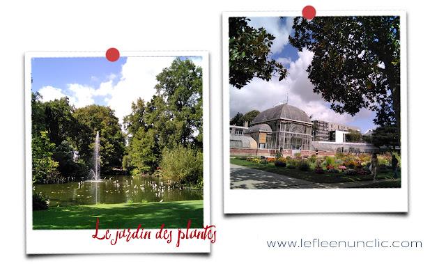 le jardin des plantes, Nantes, France, FLE, le FLE en un 'clic'