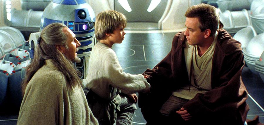 Întâlnire epică: Qui-Gon Jinn, Anakin Skywalker, Obi Wan Kenobi şi R2-D2