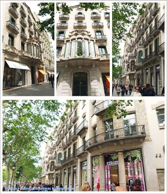 Barcelona; Conhecendo a Europa; sem guia; turismo na espanha; Passeig de Gràcia; Comércio exclusivo