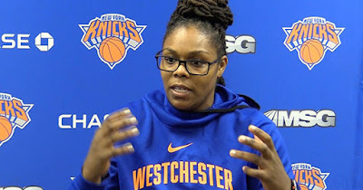 Lisa Camille Willis, first female coach in New York Knicks history