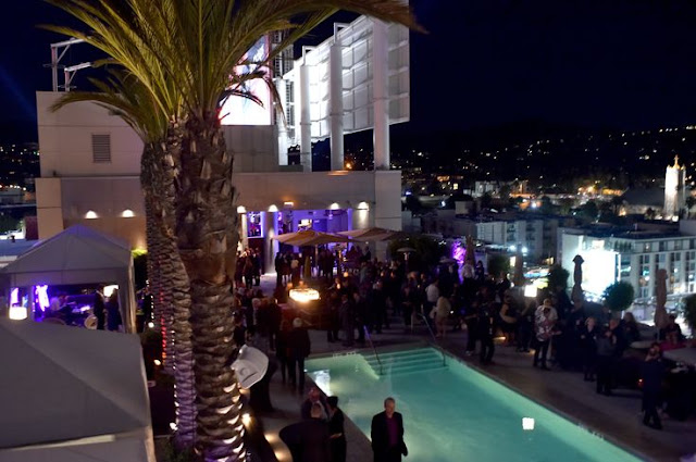 Swanky Rooftop Bar em Los Angeles