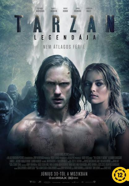 Poster of The Legend of Tarzan 2016 720p Hindi BRRip Dual Audio Full Movie Download