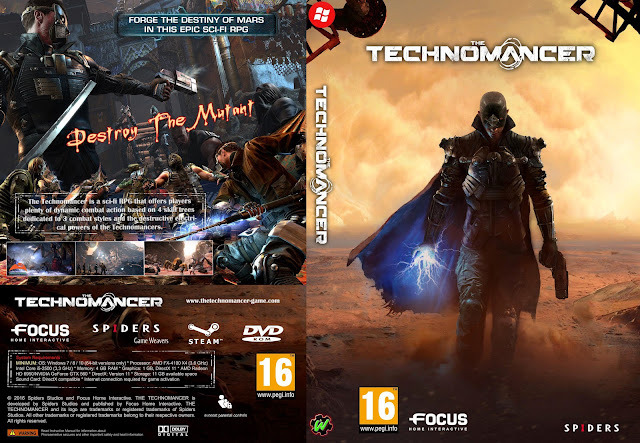 Capa The Technomancer PC