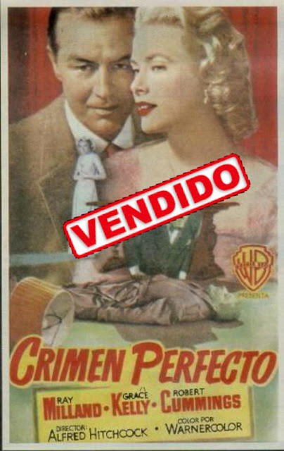 Programa de Cine - Crimen Perfecto - Ray Milland - Grace Kelly - Robert Cummings